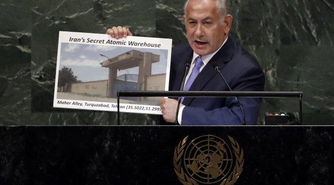 Netanyahu'dan İran'a suçlama: Tahran'da nükleer silah gizliyorlar
