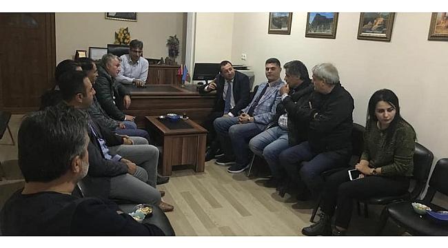 CHP'li Baytekin'den STK'lara ziyaret