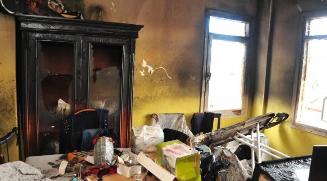 Balçova'dan evi yanan vatandaşa yardım!