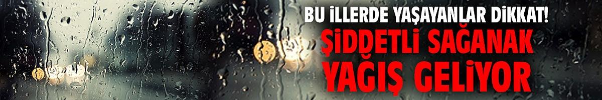 Bu illerde yaşayanlar dikkat! Şiddetli sağanak yağış geliyor...