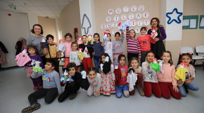 Güzelbahçe'de çocuklar için workshop günleri