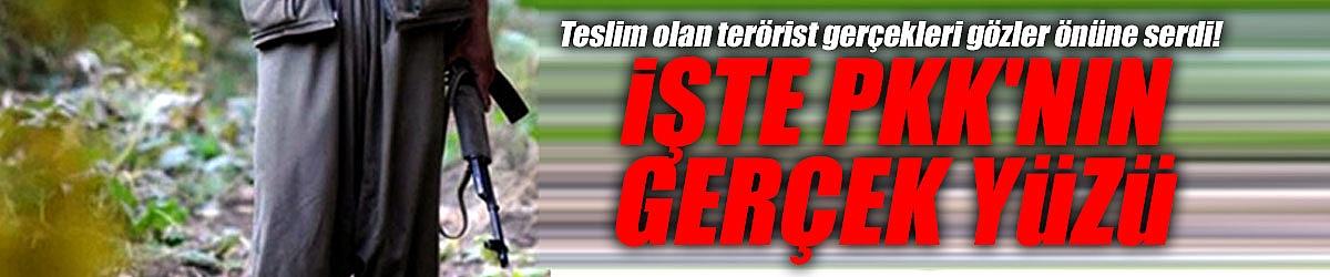Teslim olan terörist gerçekleri gözler önüne serdi! İşte PKK'nın gerçek yüzü
