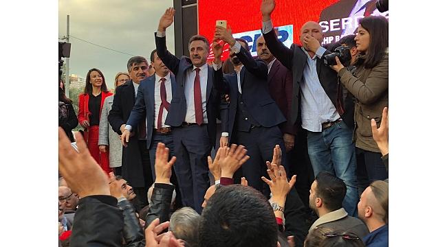 CHP'li Sandal seçim startını verdi!