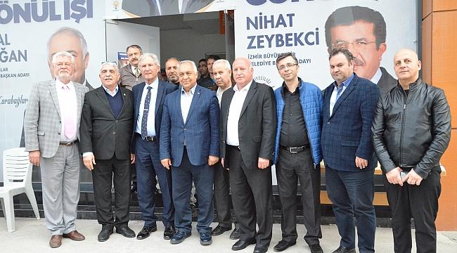 AK Partili Doğan'a Balkan Dernekleri'nden destek