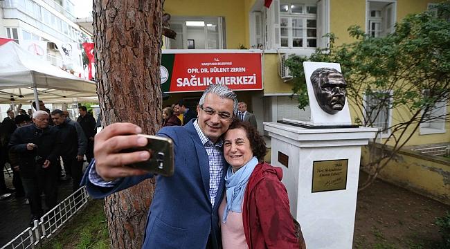 'Dr. Bülent Zeren' adı hizmet binasına verildi