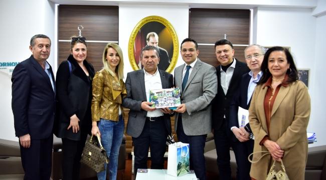 MTK Yönetimi, Başkan Atila'yı ziyaret etti