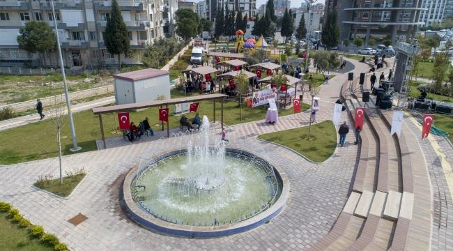 Prof. Dr. Türkan Saylan Parkı, Çiğli'de açıldı