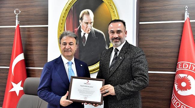Başkan İduğ, 'Türk Kızılayı ile çalışmaya hazırız'