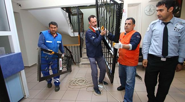 Başkan Sandal, talimatı verdi kapılar kaldırıldı!