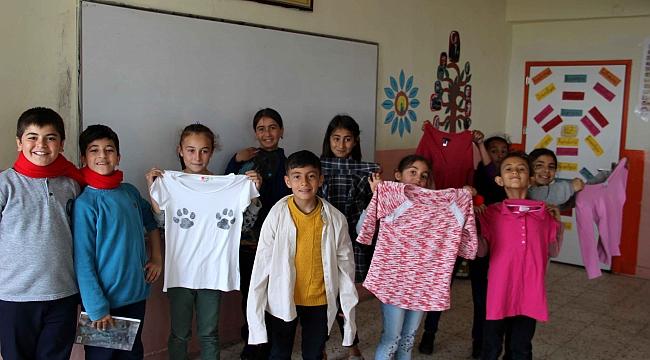 Karşıyaka Belediyesi, Şırnaklı çocukların yüzünü güldürdü