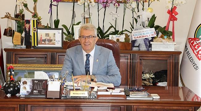 Başkan Eriş, 'Varlığımızın 100. yılını kutluyoruz'