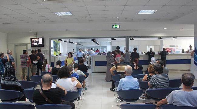 Karabağlar Belediyesi hafta sonu veznelerini açık tutacak