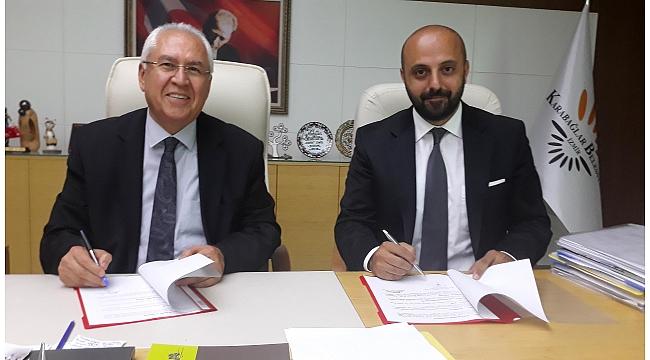 Karabağlar Belediyesi'nden işbirliği protokolü