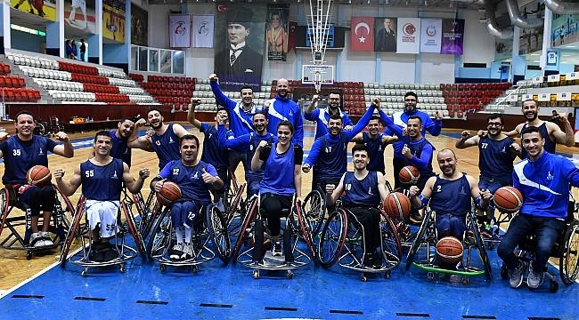Tekerlekli Sandalye Basketbol Takımı, sezonu ikinci sırada tamamladı!