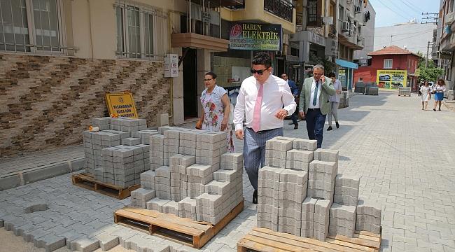 Başkan Kılıç, belediye ekiplerinin çalışmalarını denetledi