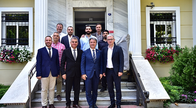 EGOD, Başkan İduğ'u ziyaret etti!