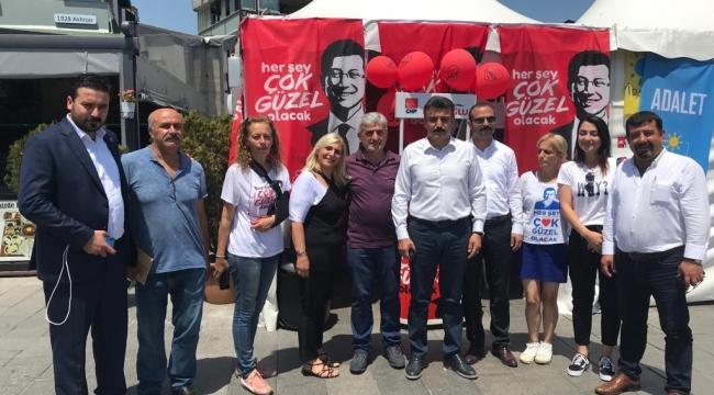 İmamoğlu çalışmalarına Başkan Kırgöz'den tam destek