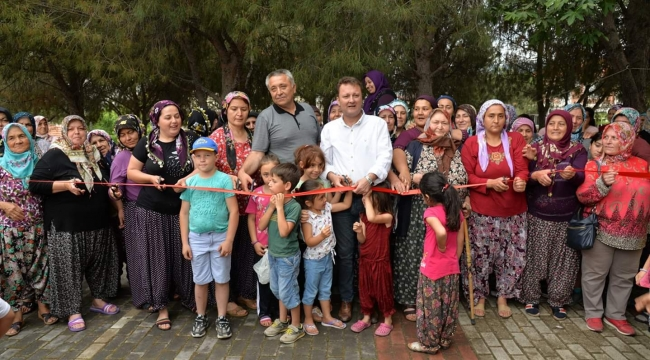 """""""Organik Köy Pazarı"""" Menemen'de açıldı"""