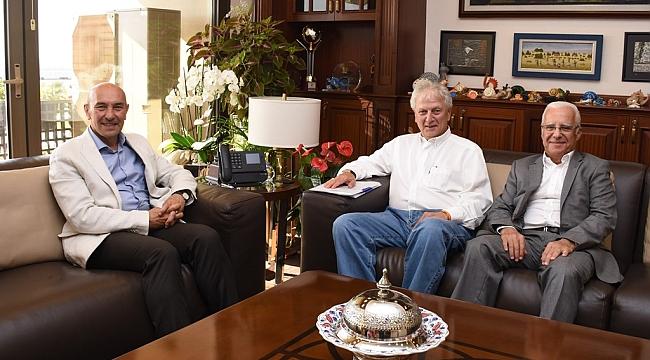 Başkan Soyer, Ender Yorgancılar ile bir araya geldi