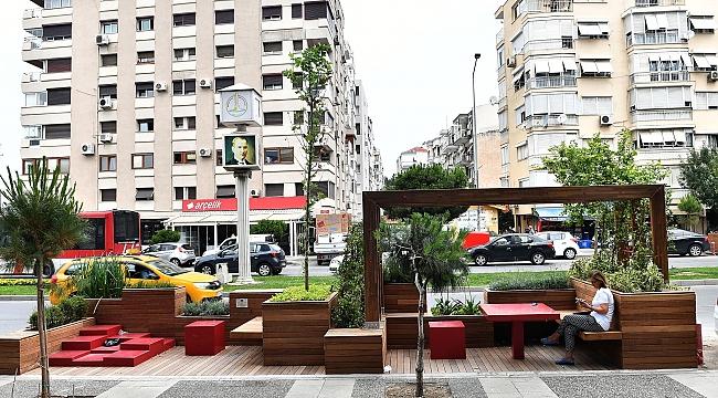 Büyükşehir'den Girne Caddesi'ne cep parklar