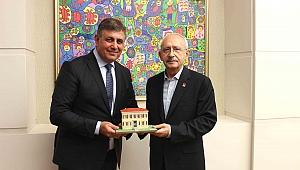 Kılıçdaroğlu'na Başkan Tugay'dan ziyaret