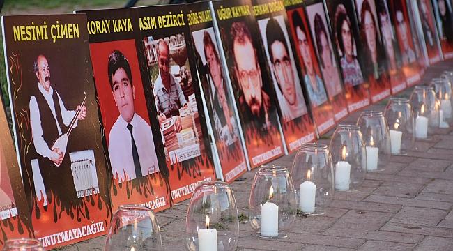 Sivas Katliamı şehitleri Narlıdere'de anıldı