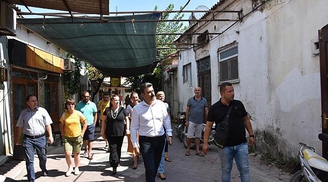Başkan Kırgöz, Dikili'de yeni çalışması başlattı