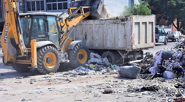 Bornova'da moloz atıkları için özel ekip kuruldu