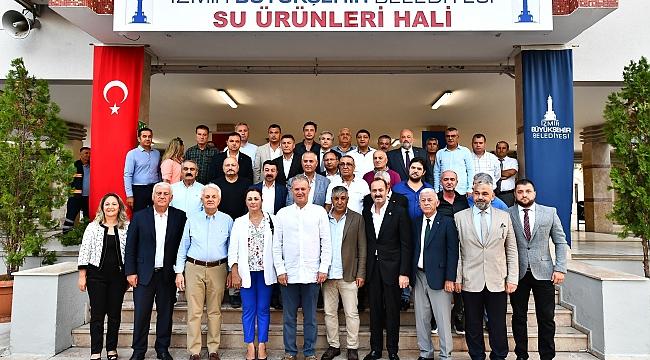 2019-2020 Balıkçılık Av Sezonu İzmir'de açıldı!