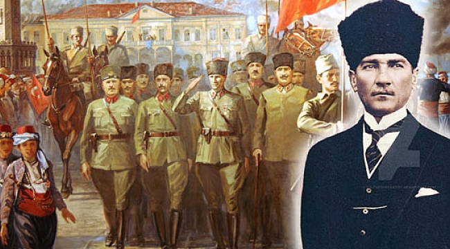 9 Eylül İzmir'in Kurtuluşu Günü... Kutlu olsun!