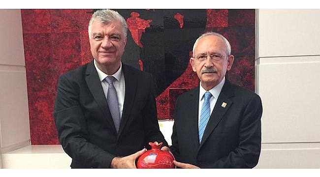 Başkan Engin'den CHP lideri Kılıçdaroğlu'na ziyaret!