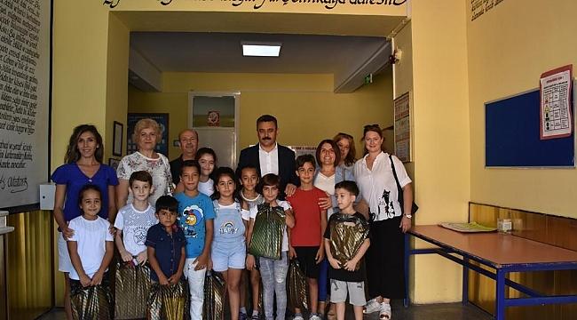 Dikili Belediyesi'nden eğitime destek