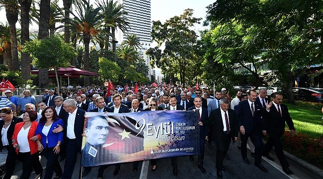 İzmir'de 9 Eylül coşkusu yaşanıyor!