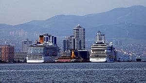 Kruvaziyer gemiler, İzmir'e yeniden düzenli seferler yapıyor!