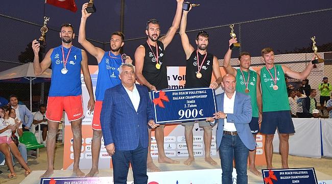 Plaj Voleybolu Balkan Şampiyonası sona erdi!