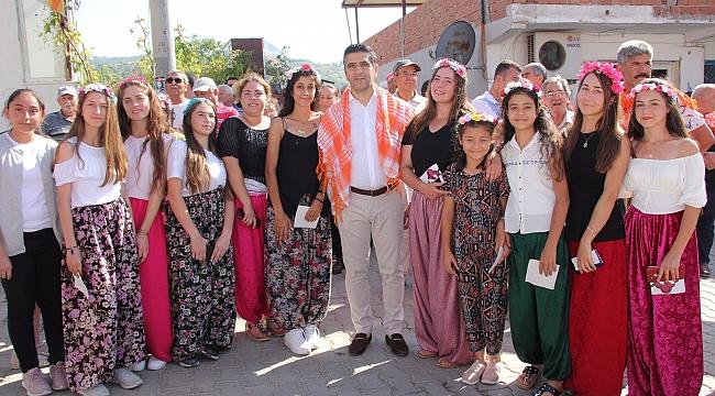 Üzüm Festivali, renkli görüntülere sahne oldu!