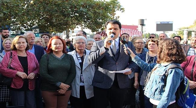 CHP Konak Başkanı Gruşçu'dan açıklama