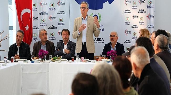 Başkan Arda'dan Alevi yurttaşlarla kahvaltı