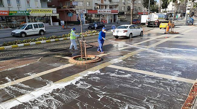 Aydın Büyükşehir Belediyesi Çalışmalarını Sürdürüyor