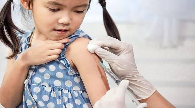 Çocukları korumak için aşı yaptırın!