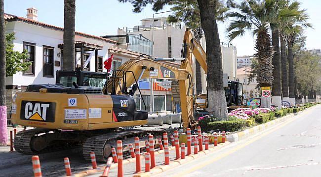 Aydın Büyükşehir Altyapıyı Yeniliyor