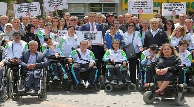 Gaziemir Belediyesi Engellilerin Sorunlarına Çözüm Üretiyor