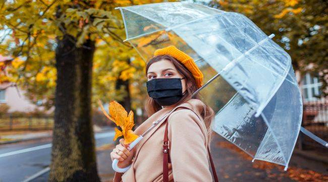Yağmurlu Havalarda Maske Kullanımına Dikkat!