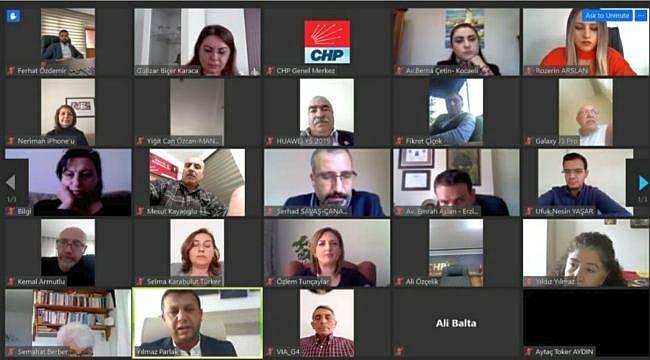 81 İlin İnsan Hakları sorumlularıyla ilk toplantı gerçekleştirildi