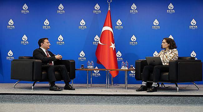 """""""DEVA Partisi başarılı olursa, Türkiye başarılı olacak"""""""