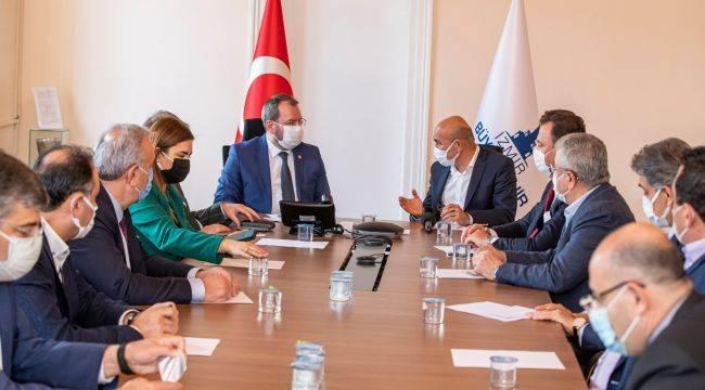 Deprem Komisyonuna İzmir brifingi