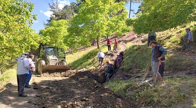 Aydın Büyükşehir Tarımsal Sulama Hattı Yapıyor