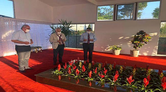 CHP'Lİ Vekillerden Prof. Dr. Haydar Baş'ın Kabrine Ziyaret