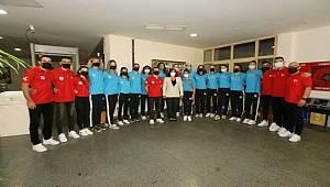 Aydın'ın Sultanları Başkan Çerçioğlu'nu Ziyaret Etti