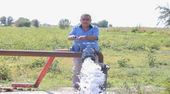 Aydın'ın Tarımsal Sulama Ağı Genişledi